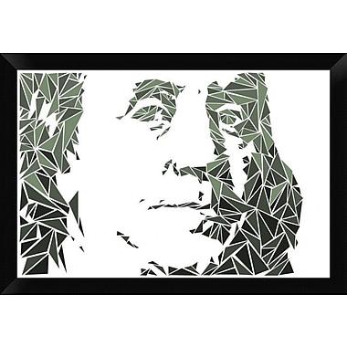 Naxart 'Benjamin Franklin' Framed Graphic Art Print on Canvas; 18'' H x 26'' W x 1.5'' D