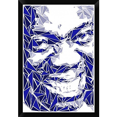 Naxart 'Louis Armstrong' Framed Graphic Art Print on Canvas; 32'' H x 22'' W x 1.5'' D