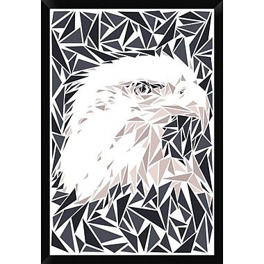 Naxart 'Aquila' Framed Graphic Art Print on Canvas; 38'' H x 26'' W x 1.5'' D