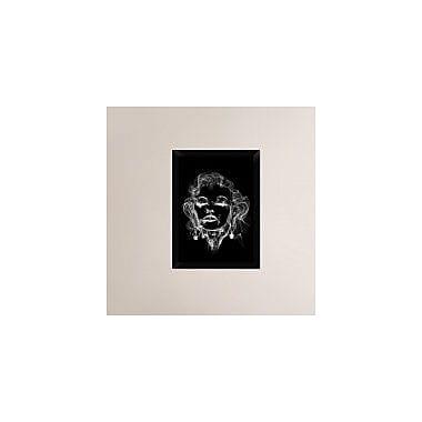 Naxart 'Michael Jackson 2' Framed Graphic Art Print on Canvas; 24'' H x 18'' W x 1.5'' D