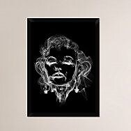 Naxart 'Michael Jackson 2' Framed Graphic Art Print on Canvas; 32'' H x 23'' W x 1.5'' D