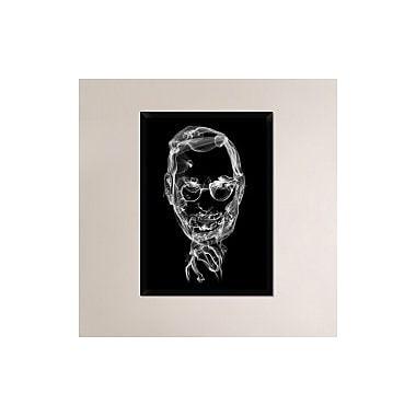 Naxart 'Steve Jobs 2' Framed Graphic Art Print on Canvas; 38'' H x 28'' W x 1.5'' D