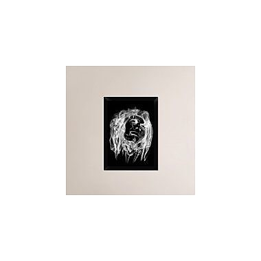 Naxart 'Bob Marley 2' Framed Graphic Art Print on Canvas; 24'' H x 18'' W x 1.5'' D