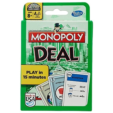 Jeu de cartes Monopoly Deal