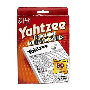 Yahtzee – Cartes de pointage
