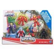 Playskool Heroes – Capitaine America : Super escouade de la jungle Super Hero Adventures
