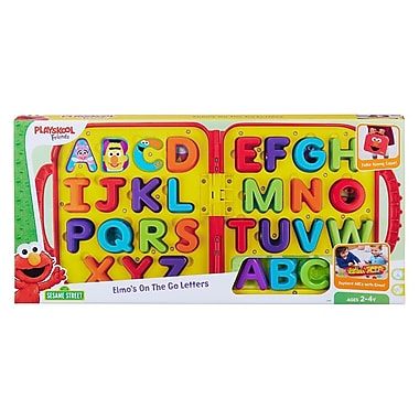 Playskool Friends Sesame Street Elmo's On the Go Letters