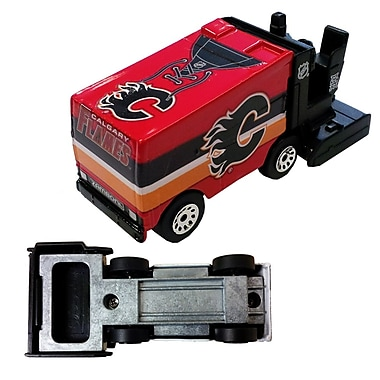 Top Dog Collectibles NHL Zamboni Ice Resurfacer Bottle Opener, Calgary Flames