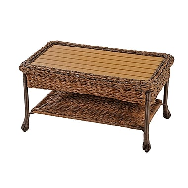 W Home Collection Outdoor Faux Sea Gr Garden Patio Coffee Table Sw1529ct