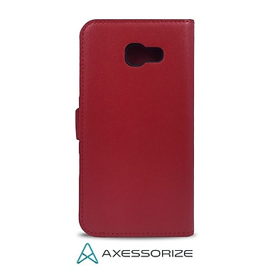 Axessorize Folio Cell Phone Wallet Case for Samsung Galaxy A5 2017, Red (FOLGA5R)