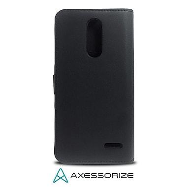 Axessorize - Étui Folio Wallet pour ZTE Grand X 4, noir (FOLGX4N)