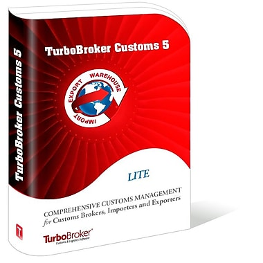 TurboBroker Customs Software, 5-User [Download]