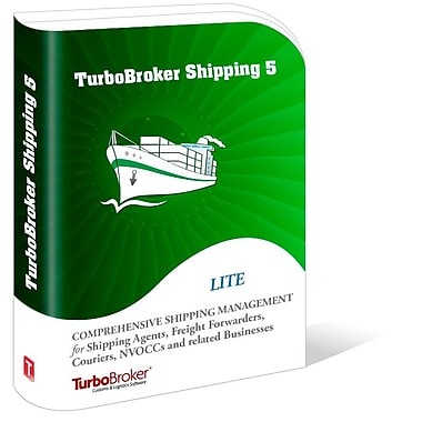 TurboBroker Shipping Software, 5-User [Download]