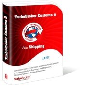 TurboBroker Customs & Shipping Software, 5-User [Download]