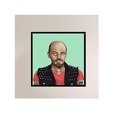 Naxart 'Vladimir Lenin' Framed Painting Print on Canvas; 42'' H x 42'' W x 1.5'' D