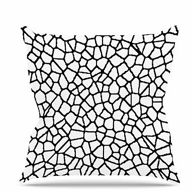 East Urban Home Staklo I Throw Pillow; 26'' H x 26'' W x 7'' D