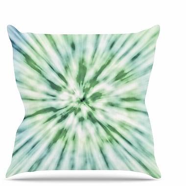 East Urban Home Spring Tie Dye Throw Pillow; 20'' H x 20'' W x 7'' D
