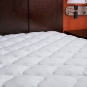Anew Edit Extra Plush Marriott Hotel Mattress Pad Topper w/ Fitted Skirt; Queen