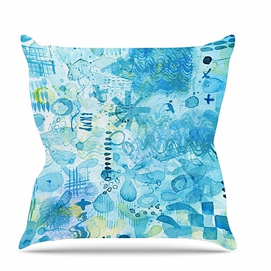 East Urban Home Floating Throw Pillow; 20'' H x 20'' W x 7'' D
