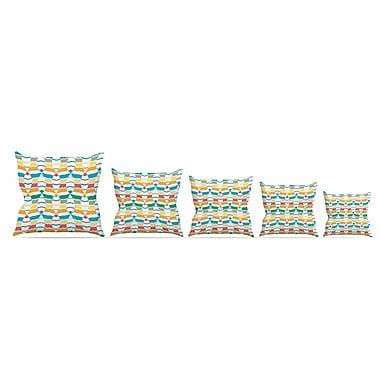 East Urban Home Percy Lemore Throw Pillow; 16'' H x 16'' W x 6'' D