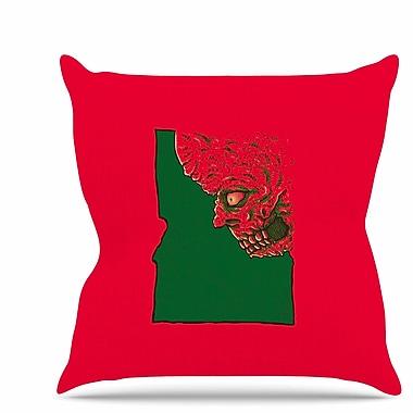 East Urban Home Idaho Zombie Throw Pillow; 20'' H x 20'' W x 7'' D