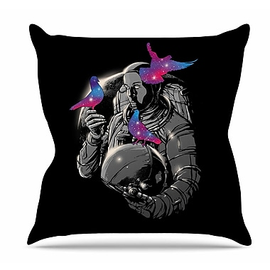 East Urban Home A Touch of Whimsy Throw Pillow; 18'' H x 18'' W x 6'' D