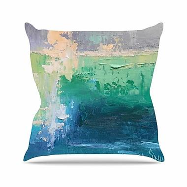 East Urban Home Sea Music Throw Pillow; 16'' H x 16'' W x 6'' D
