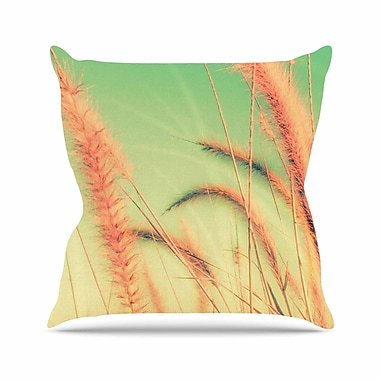 East Urban Home Dancing in Spring Throw Pillow; 16'' H x 16'' W x 6'' D