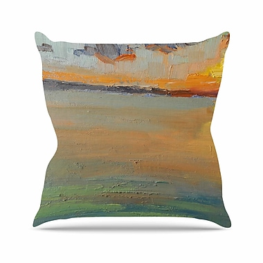 East Urban Home Reflections Throw Pillow; 16'' H x 16'' W x 6'' D