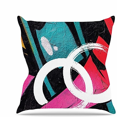 East Urban Home Channel Zero Throw Pillow; 26'' H x 26'' W x 7'' D