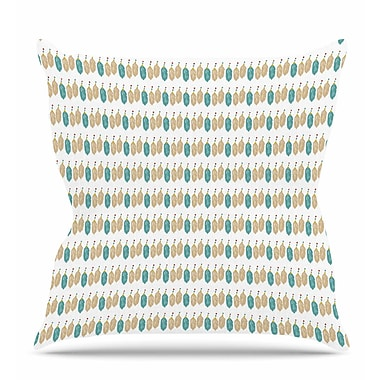 East Urban Home Colour Dream Throw Pillow; 20'' H x 20'' W x 7'' D