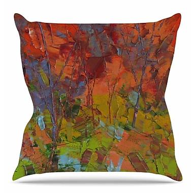 East Urban Home Fall Colours Throw Pillow; 26'' H x 26'' W x 7'' D