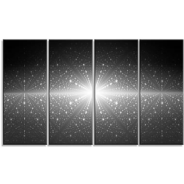DesignArt 'Stardust and Bright Shining Stars' Graphic Art Print Multi-Piece Image on Canvas