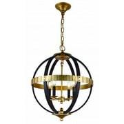 Elegant Lighting Orbus 4-Light Globe Pendant