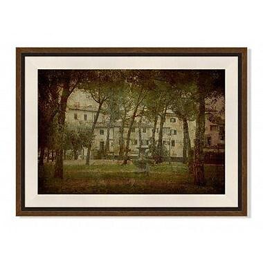 Melissa Van Hise 'Italia Passatempo II' Framed Photographic Print