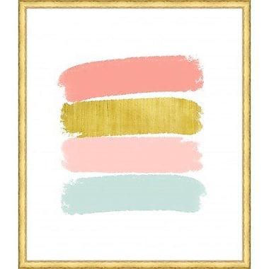 Melissa Van Hise 'Paint Swashes III' Framed Painting Print