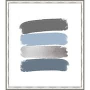 Melissa Van Hise 'Paint Swashes V' Framed Painting Print