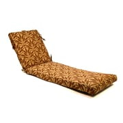 Wildon Home   Deluxe Leaf Outdoor Chaise Lounge Cushion