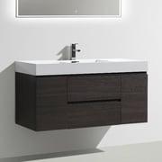 Morenobath MOF 47'' Single Bathroom Vanity Set; Dark Gray Oak