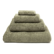 Darby Home Co 100pct Turkish Cotton Soft Twist 4 Piece Towel Set; Light Olive