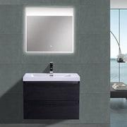 Morenobath MOB 29'' Single Bathroom Vanity Set; Black
