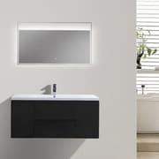 Morenobath MOB 47'' Single Bathroom Vanity Set; Black
