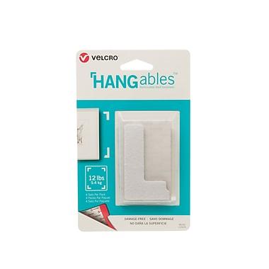 Velcro HANGables Corners Wall Fasteners, 3