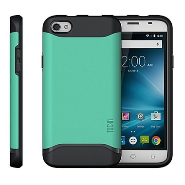 TUDIA Slim-Fit MERGE Dual Layer Protective Case for NUU Mobile X4 Smartphone (Mint)