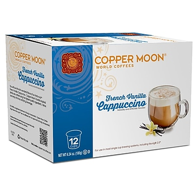 Copper Moon Cappuccino French Vanilla Single Cup 12ct. 2400140