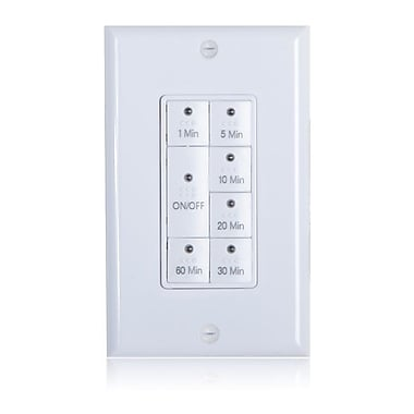 Maxxima 7 Button Countdown Timer Switch Maximum 60 Minutes Delay, 1875 Watt (MEW-PT1800)