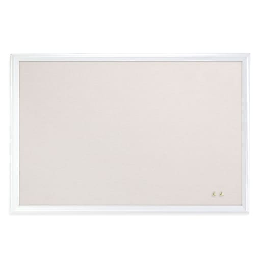 U Brands Cork Linen Bulletin Board, 20\