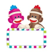 "Trend Enterprises® 6"" Classic Accents, Sock Monkeys Signs"