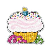 """Trend Enterprises® 5 1/2"""" Sparkle Classic Accents, Birthday Cupcakes, 24/Pack"""