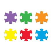 Trend Enterprises® Pre-kindergarten - 9th Grades Mini Accents, Puzzle Pieces